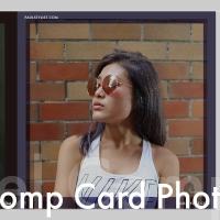 Model comp card