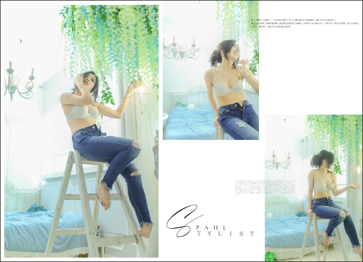 日系少女寫真 閨蜜照 boudoir photography HK by paulstylist lookbook5s